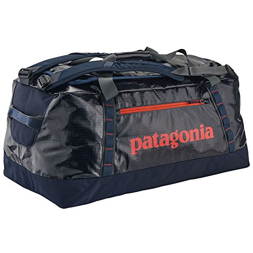 Patagonia Black Hole Duffel Travel Duffle, 45 Cm, 90 Liters, Blue (Navy Wpaintbrush Red)