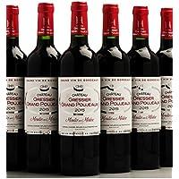 Château Gressier Grand Poujeaux 2015 - AOC Moulis - Vin Rouge - 6 bouteilles x 75cl - Signé Chasse Spleen