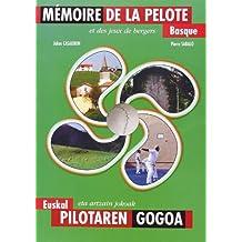 Mémoire de la Pelote Basque