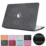 Papyhall Paillettes Bling givré Texture 2en 1MacBook Coque en Plastique avec...