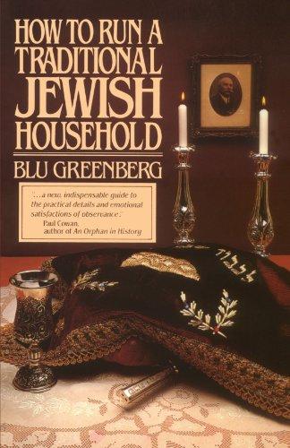 How to Run a Traditional Jewish Household por Blu Greenberg