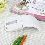 Best Bluetooth Mouse ergonomía - Ratón Inalámbrico Plegable Ultradelgado De La Personalidad Creativa Review