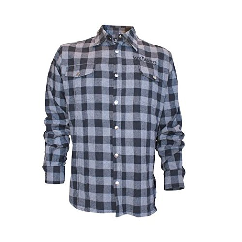 Jack Daniel's Check Shirt Hemd schwarz/grau Schwarz/Grau