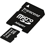 Transcend TS32GUSDHC10E Class 10 Extreme-Speed microSDHC 32GB Speicherkarte mit SD-Adapter [Amazon Frustfreie Verpackung]