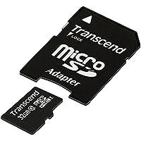 Transcend TS32GUSDHC10E Class 10 Extreme-Speed microSDHC 32 GB Speicherkarte