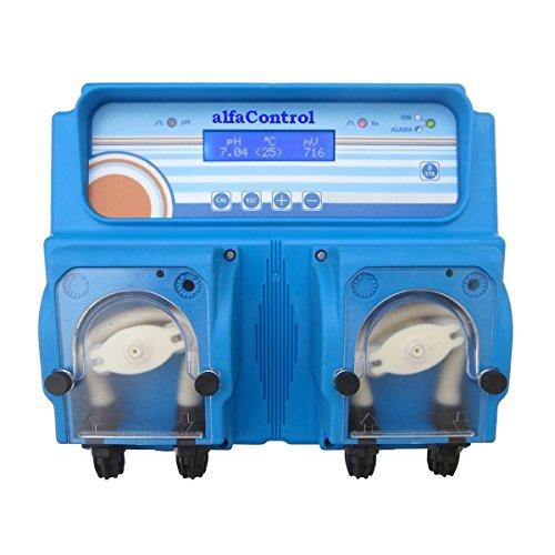 alfaControl pH/RX compact PSP I - Mess-, Regel- und Dosieranlage für pH-Wert Regulierung und Desinfektion im Schwimmbad (80202)