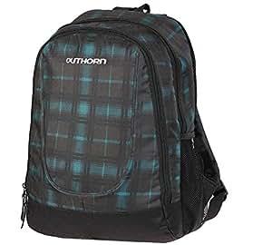 outhorn City Sac à dos, sac à dos scolaire spin1, pcu174a, 17L, smaragd - grau kariert