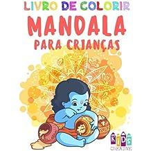 Livro De Colorir Mandala Para Crianças Pequenas: Volume 3