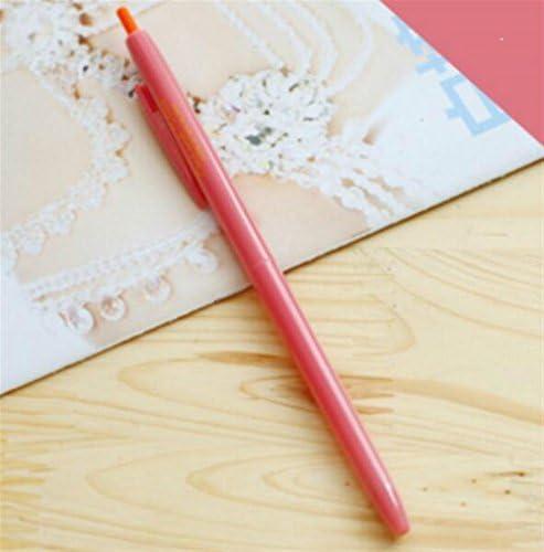 SunnyGod 3 Pcs / Set Bonbons Gel Stylo Kit Signing Stylo Étudiant Papeterie Fournitures (Rosy)   Simple D'utilisation