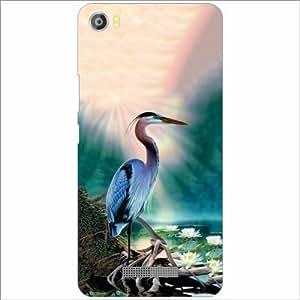 Lava Iris X8 Back Cover - Silicon Nature Designer Cases