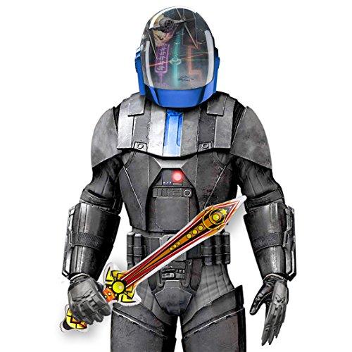 NET TOYS Aufblasbares Schwert Ritterschwert 70 cm Säbel aufblasbar Kurzschwert Degen Waffe He Man Kostüm Accessoire