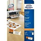 Avery Zweckform C32253-25 Tischkarten (100 Stück, 110 x 40 mm, beschichtet, matt) 25 Blatt