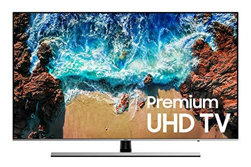 Samsung UE55NU8000XZT  Smart TV 4K Ultra HD 55' Wi-Fi DVB-T2CS2 Serie 8 NU8000,  [Classe di Efficienza Energetica A], 3840 x 2160 pixels, Nero, Argento (2018)
