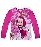 Mascha und der Bär Mädchen Langarmshirt - pink - 128