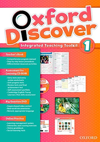 Oxford Discover 1: Teacher's Book - 9780194278140