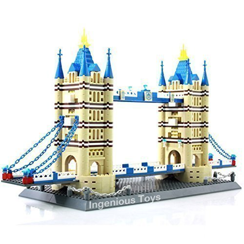 The Torre Puente de Londres by Wange 1033pcs Nuevo Caja Juego #8013
