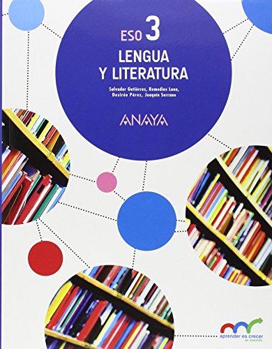 Lengua y Literatura 3. (Aprender es crecer en conexión) por Salvador Gutiérrez Ordóñez