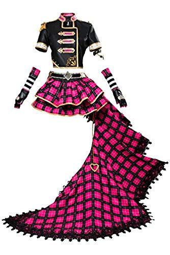 Generic Frauen Anime Cosplay Kostüm Schuluniform Sailor Kostüm Nico Yazawa Kunikida Rubin Kurosawa Sakurauchi Riko Tsushima Yoshiko Cosplay Kostüm Full Set @ (Cute Sailor Kostüm Frauen)