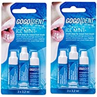 Preisvergleich für 2x GOGO DENT Atem-Liquid Ice Mint 3X3.2ml PZN: 9338605, breath drops Instand fresh