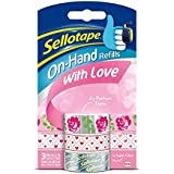 Sellotape Le Refill Hand - With Love