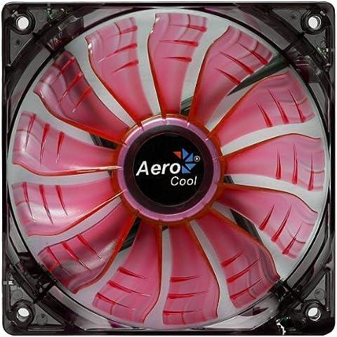 AeroCool Air Force - Ventilador Airfoce Red Led Air Circ