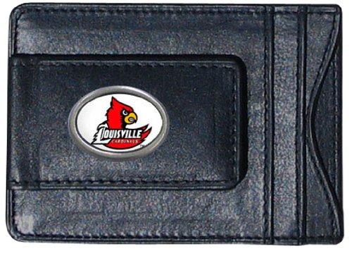 Siskiyou NCAA Bargeld- und Kartenetui aus Leder, Herren, Louisville Cardinals Louisville University