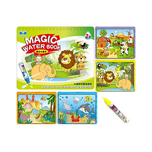 Sipobuy Magic Water Drawing Book Agua Libro para Colorear Doodle con Magic...