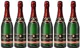 Rotkäppchen Sekt Flaschengärung Spätburgunder Rosé trocken 6 x 0,75l - Premiumsekt deutscher Weine – für besondere Momente/Weihnachten/Geburtstage/zum Anstoßen/als Mitbringsel