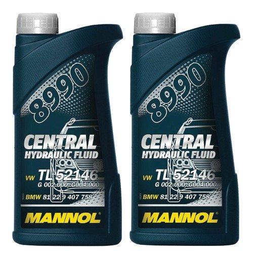 Zentral Hydrauliköl Servoöl CHF11S WSSM2C204A TL 52146 1 Liter Mannol