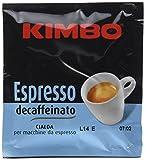 Un'-ottima miscela di caffè-, decaffeinato con cura, per conservare l'-aroma ricco ed il gusto pieno del classico espresso. Caffè- Kimbo espresso Gusto Decaffeinato- Un accordo perfetto tra aroma finissimo e gusto delicato, arricchito da una ...