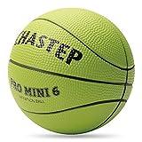CHASTEP Mini Basketball, 15,2cm Schaumstoff Ball. Weich und Bouncy, ungiftig, sicher zu Spielen, Zitrone