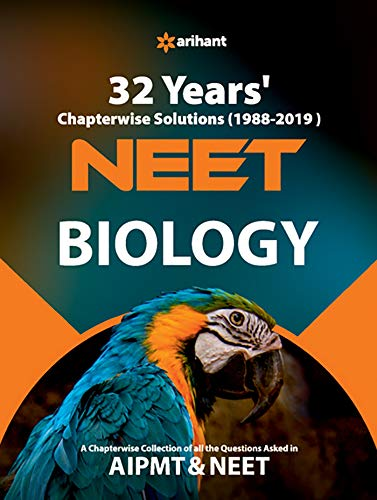 32 Years' Chapterwise Solutions CBSE AIPMT & NEET Biology