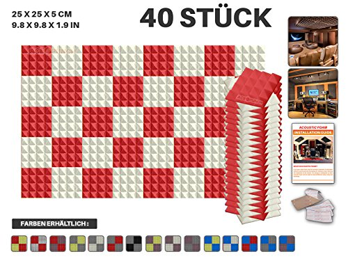 ace-punch-40-stucke-pyramiden-akustikschaumstoff-2-farbe-diy-entwurf-mit-freiem-klebestreifen-25-x-2
