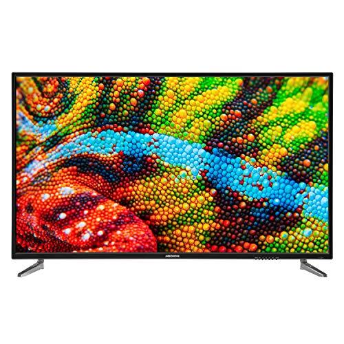 MEDION P15555 138,8 cm (55 Zoll) UHD Fernseher (4K Ultra HD, Triple Tuner, DVB-T2 HD, PVR, USB, HDMI, CI+, Mediaplayer)