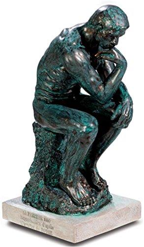 A+ El Pensador Rodin - Estatua Bronce 15