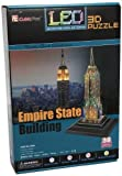 Empire State Building 3D Puzzle with LED, 38 Pieces by Daron