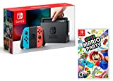 Nintendo Switch 32Gb Neon-Rot/Neon-Blau + Super Mario Party