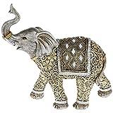 Extra grande pretectora figura de elefante