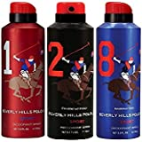 Beverly Hills Polo Club Deodorant For Men Pack Of 3