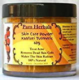 Pam Herbals Kasturi Turmeric Natural Skin Care Powder 60g