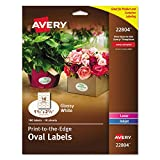 Avery Easy Peel Print-To-The-Edge Permanent Labels, Oval, Laser/InkJet - Best Reviews Guide