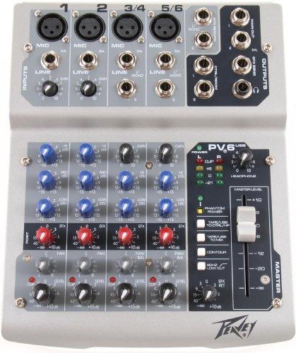 Peavey-mixer Usb (Peavey PV6 USB Mixer)