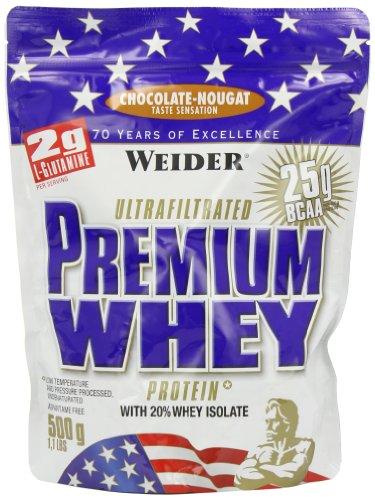 Weider Nutrition Premium Whey choc Nougat - 500g