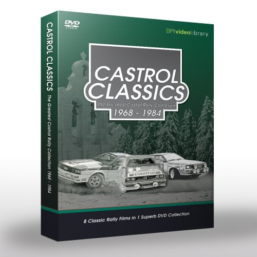 Preisvergleich Produktbild Castrol Classics: The Greatest Castrol Rally Collection 1968-1984 [DVD]