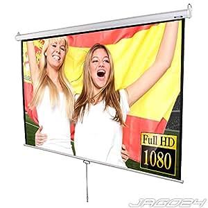 Jago Beamer Leinwand Heimkino 203x203cm HDTV tauglich