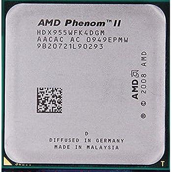 AMD Phenom II X4 955 – 3,2 GHz Quad-Core CPU procesador hdx955wfk4dgm Socket AM3 95 W