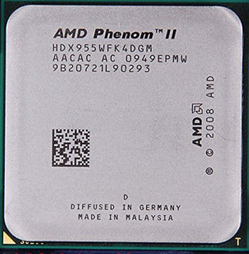 AMD Phenom II X4 955 3.2 GHz Quad-Core CPU processore HDX955WFK4DGM socket AM3 95 W
