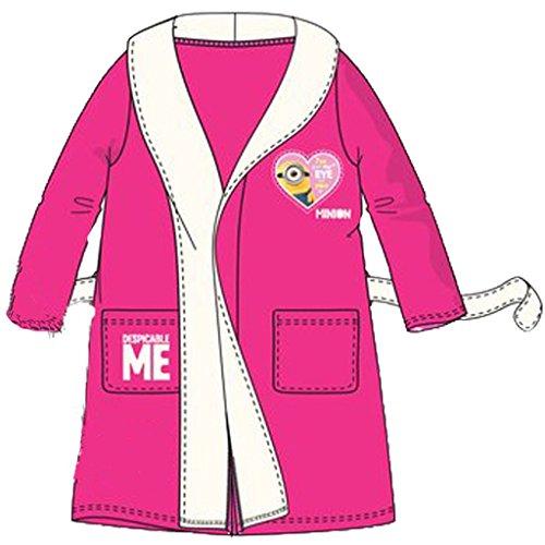 Preisvergleich Produktbild Minions Ich einfach Unverbesserlich Bademantel Pink 116 ( 6 Jahre)