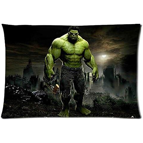 2015 de diseño de la funda de almohada más vendido Direct Dakimakura Hulk Best de corazones de libro 20 x 76,2 cm 2 laterales reforzados para