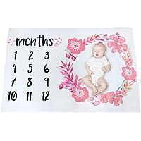 Babydecke Baby Shower Decke Kuscheldecke Meilenstein Decke Fotografie 70*102cm